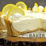 A light and elegant no-bake pie bursting with lemon flavor