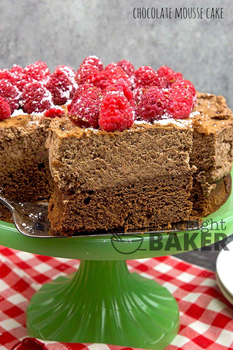 Chocolate mousse cake is so easy to make, it'll appear on your table often. Spectacular dessert for the holidays.