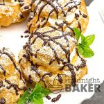 Cream puffs are easy to make and use few ingredients.