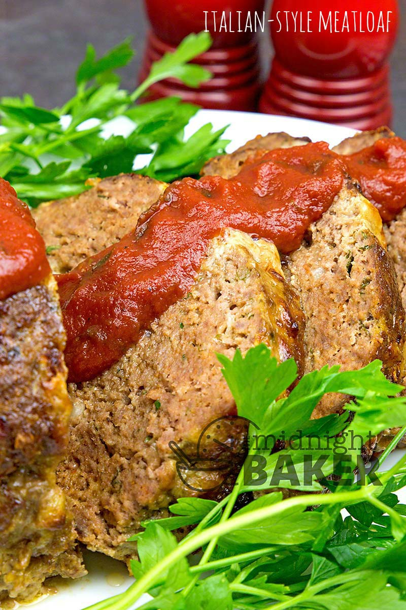 Juicy and flavorful meatloaf with the taste of Italy.
