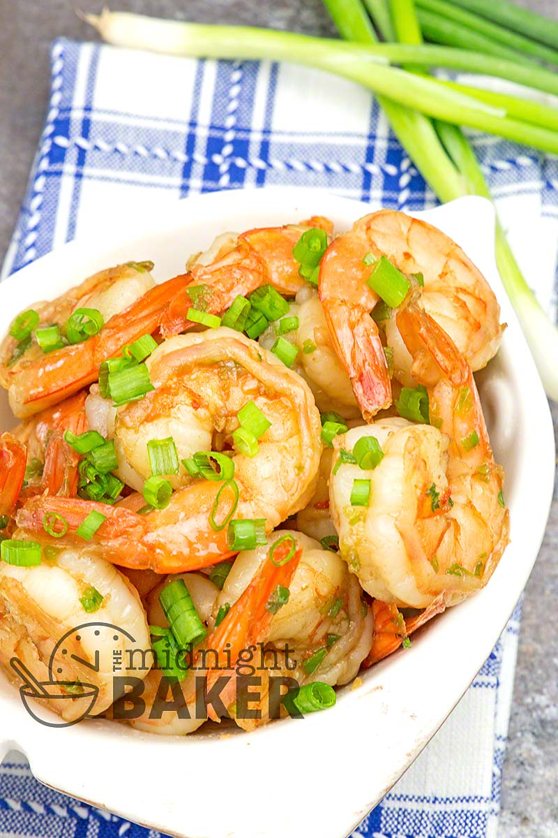 This quick and easy shrimp can double as an appetizer or main course.