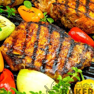 Make these delicious pork chops on your indoor stovetop grill