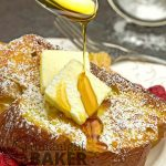 Classic French toast is easy but elegant to serve for breakfast.