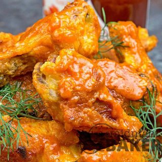 Buffalo wings made even better with a hint of smoke.