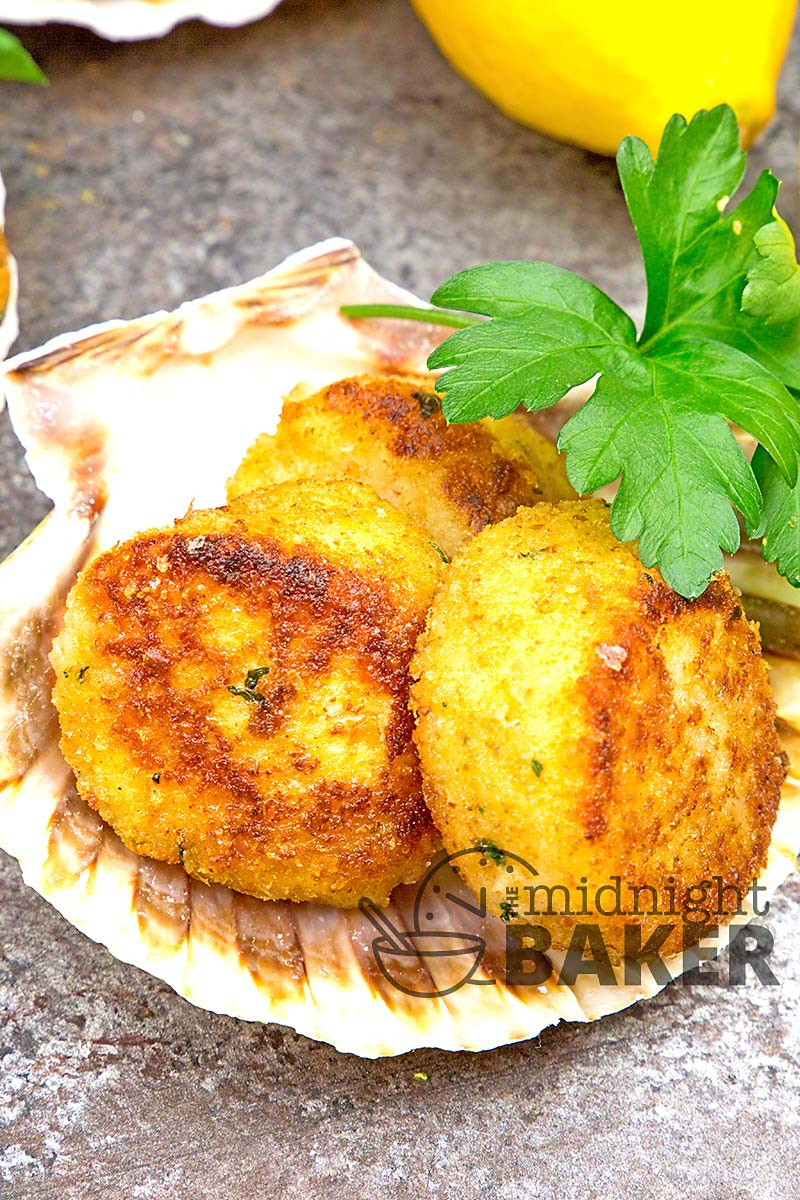 Easy breaded scallops