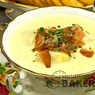 Just dump and go and you're set for a creamy and hearty potato soup.