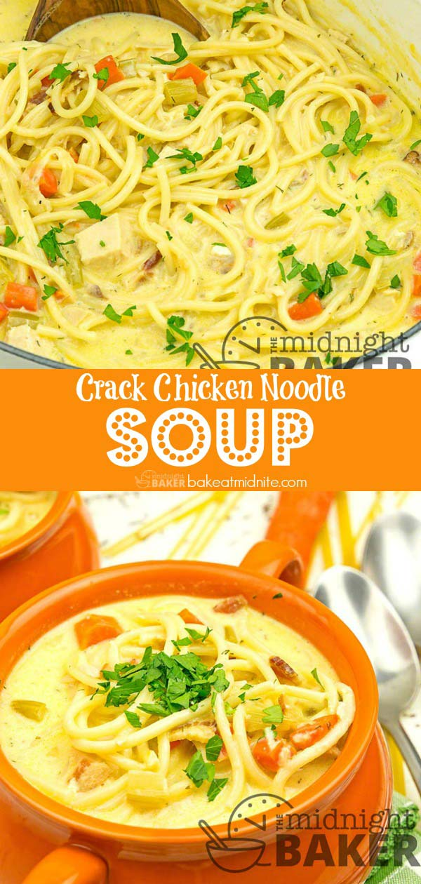 Perfect for leftover chicken and other odds and ends leftovers. This soup is addictive!