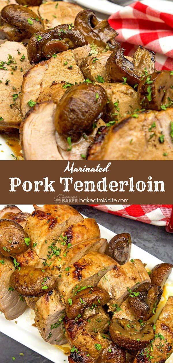 Easy to make pork tenderloin with a wonderful garlic flavor