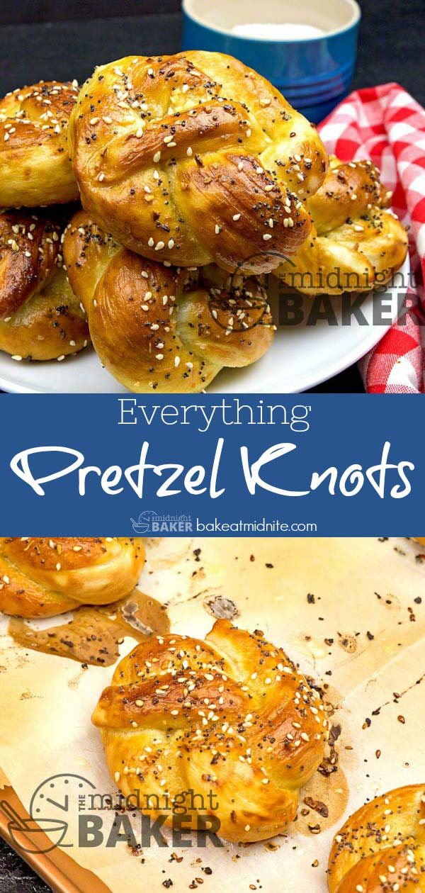 These delicious soft pretzels are a cinch to make/