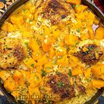 Not doing a traditional Thanksgiving meal this year? You can still be seasonal with this chicken with rice and butternut squash!