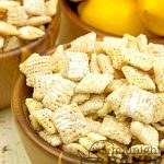 Tangy lemon and white chocolate make this snack irresistable.