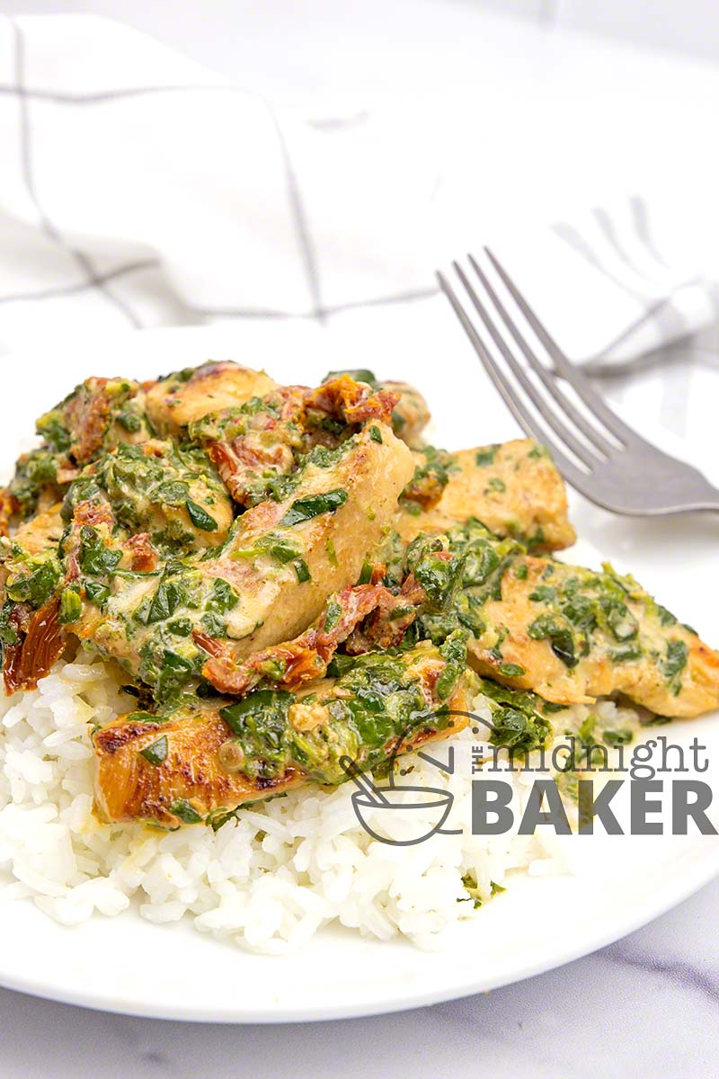 Tuscan chicken is real food that takes little time.