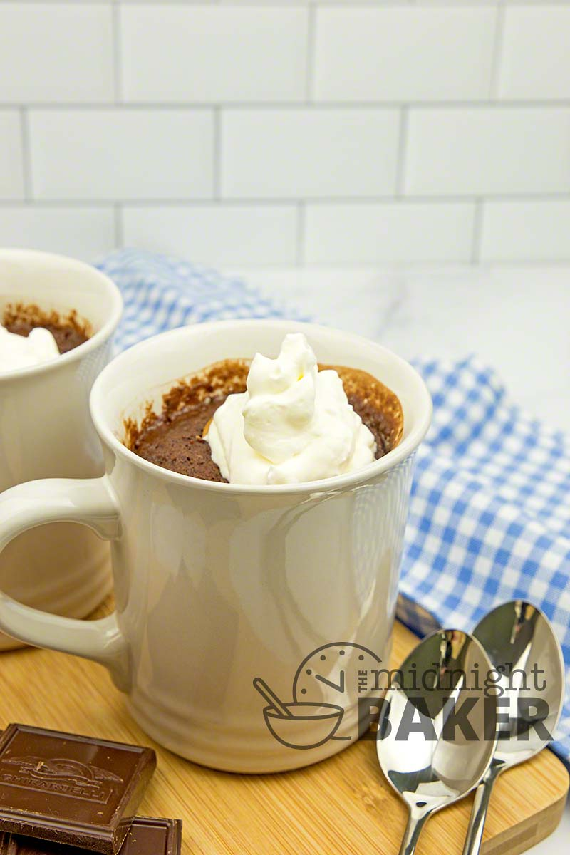 When you have to have it now, this chocolate peanut butter lava mug cake is for you.