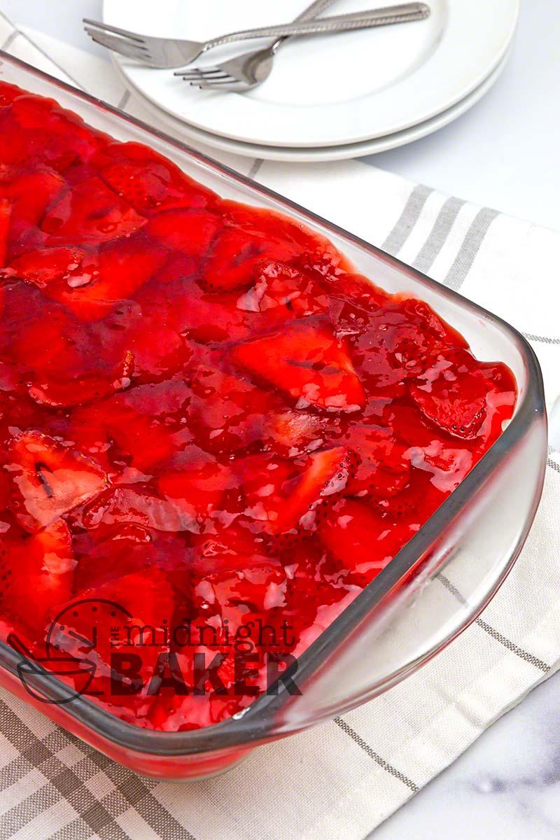 Serve this creamy strawberry no-bake dessert year round.