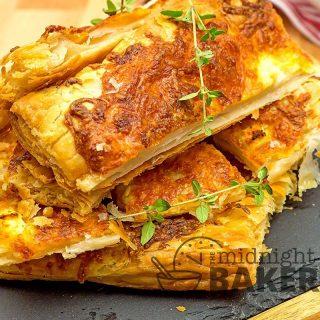 Rustic cheese tart