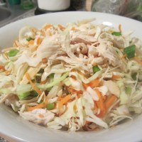 Week 42: Chopped Chicken Cabbage Salad