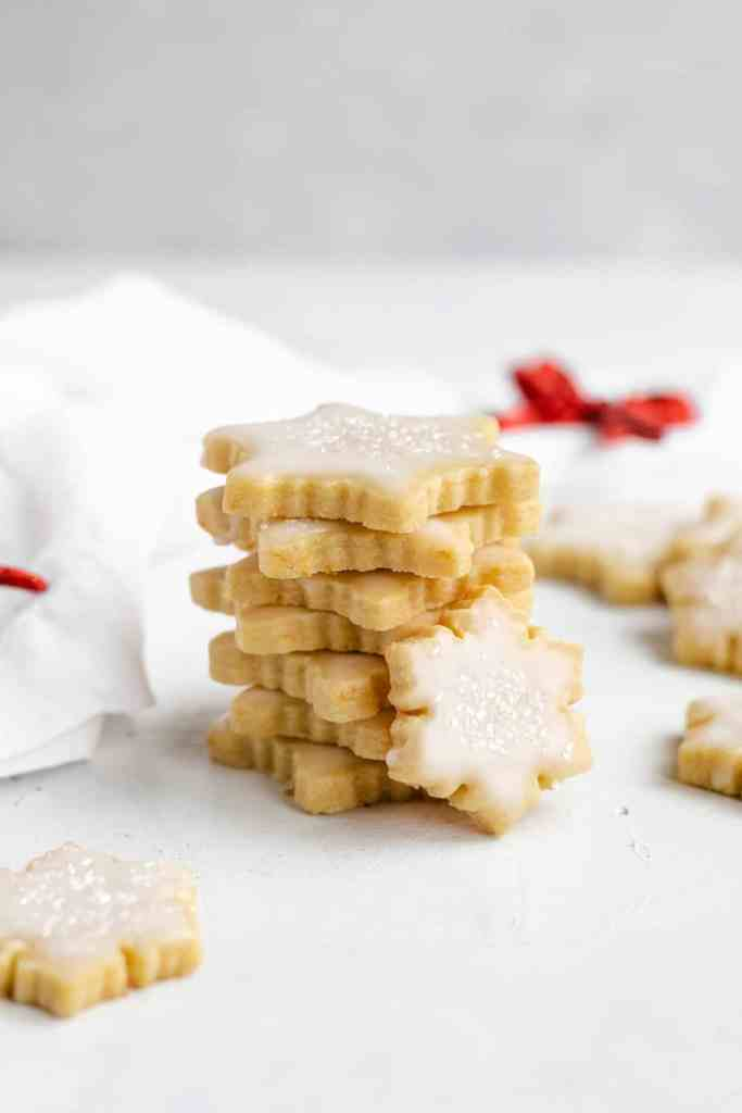 Cut Out Orange Sugar Cookies