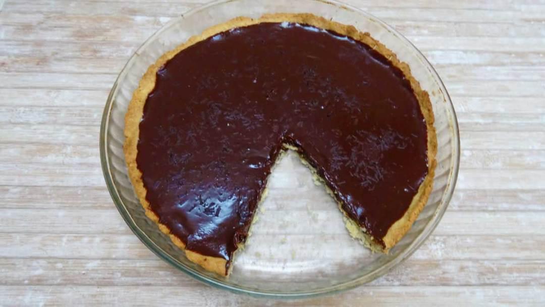 vegan chocolate tart recipe