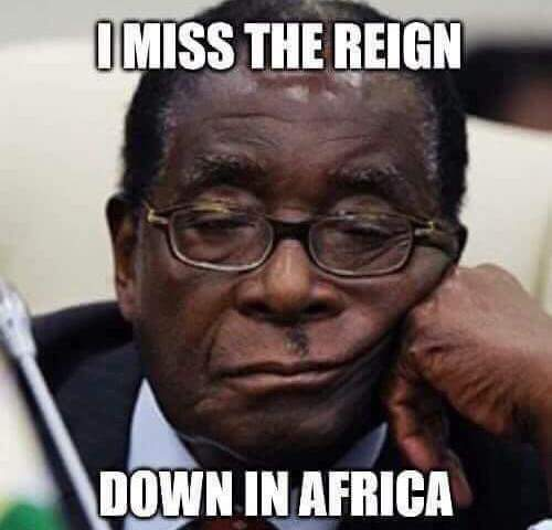 i miss the reign down in africa