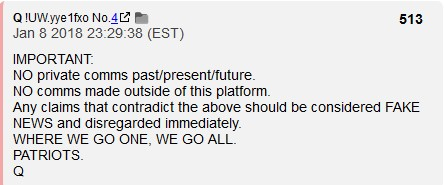Q The Basics By Anons WWG1WGA