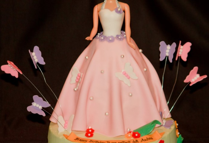 Barbie Cake Baked In Heaven