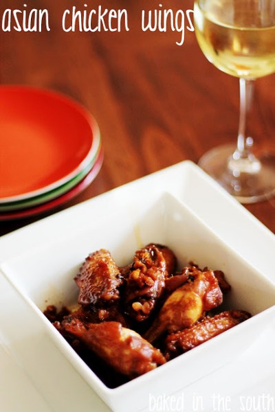 Spicy Asian Chicken Wings