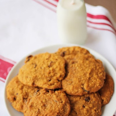 Pumpkin Spiced Cranberry Cookies