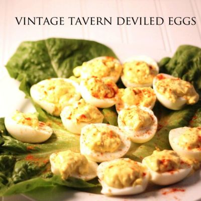Vintage Tavern Deviled Eggs