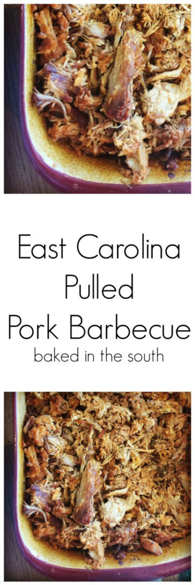 East Carolina Pork Barbecue