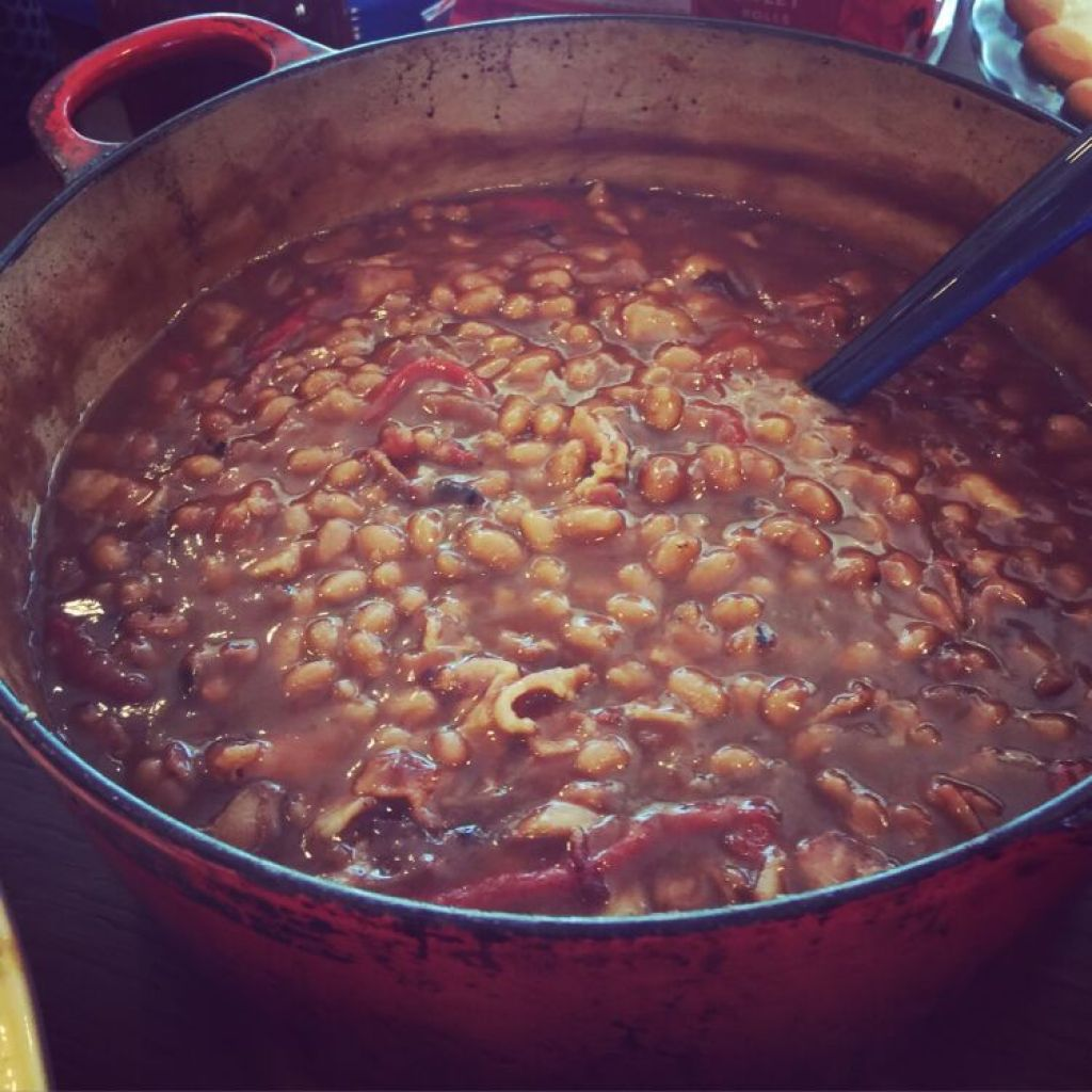 Paula Deen Southern Style Pork & Beans  Baked In The South