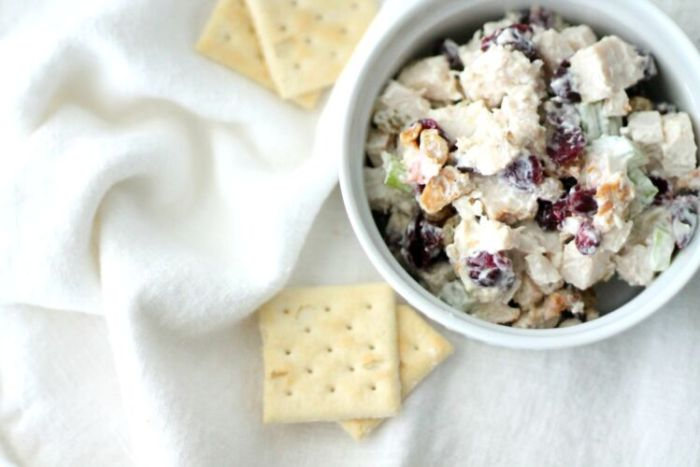 Cranberry Chicken Salad 1