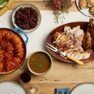 Thanksgiving Menu with Recipes!
