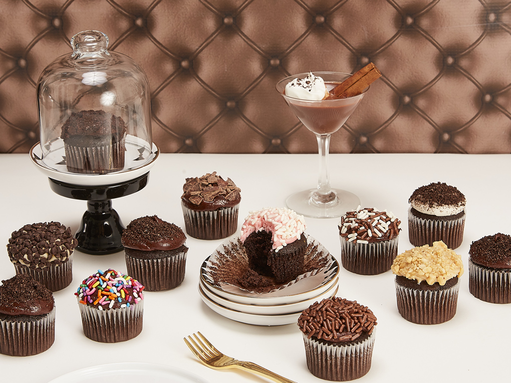 Bake Me A Wish! Mini Chocolate Lovers Cupcakes Delivery