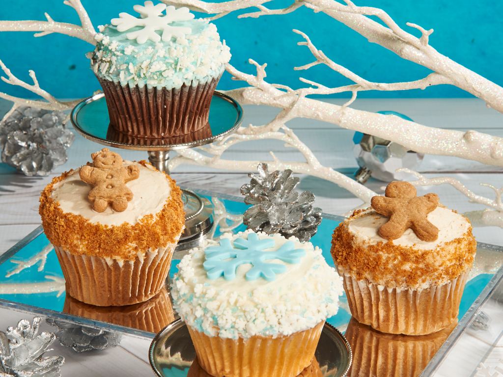 CRUMBS Signature Wintertime Cupcakes Delivery