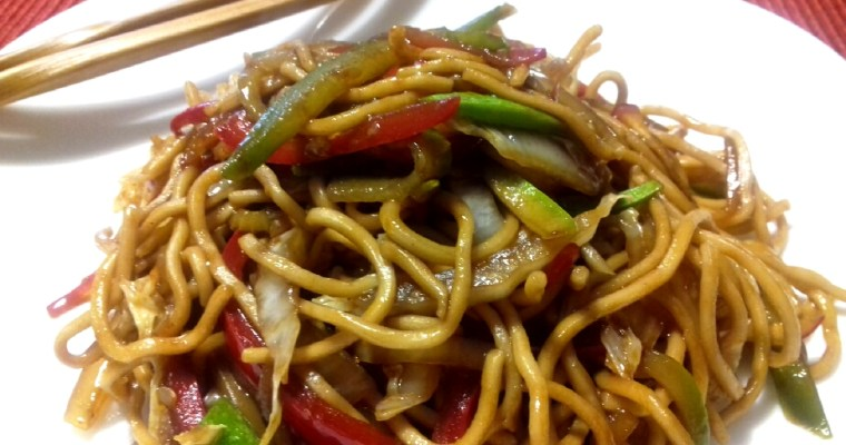 Chow mein – Chinese stir-fried noodles