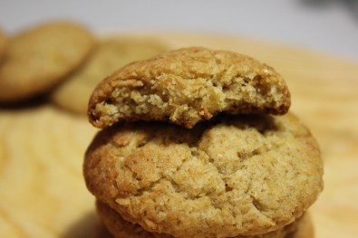 Coconut olive oil cookies