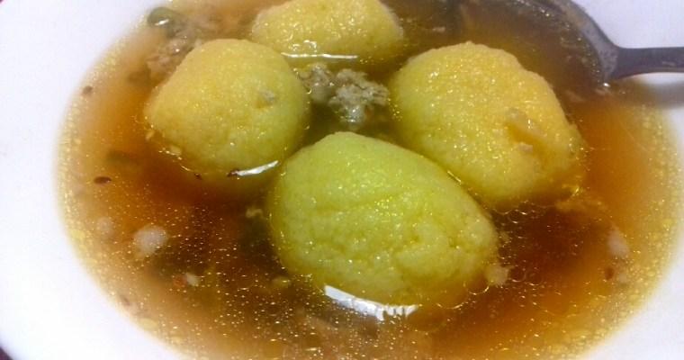 Oriental Semolina Soup