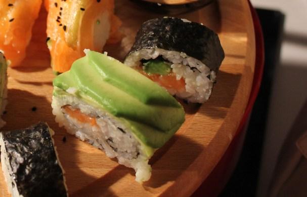 Homemade sushi platter 2