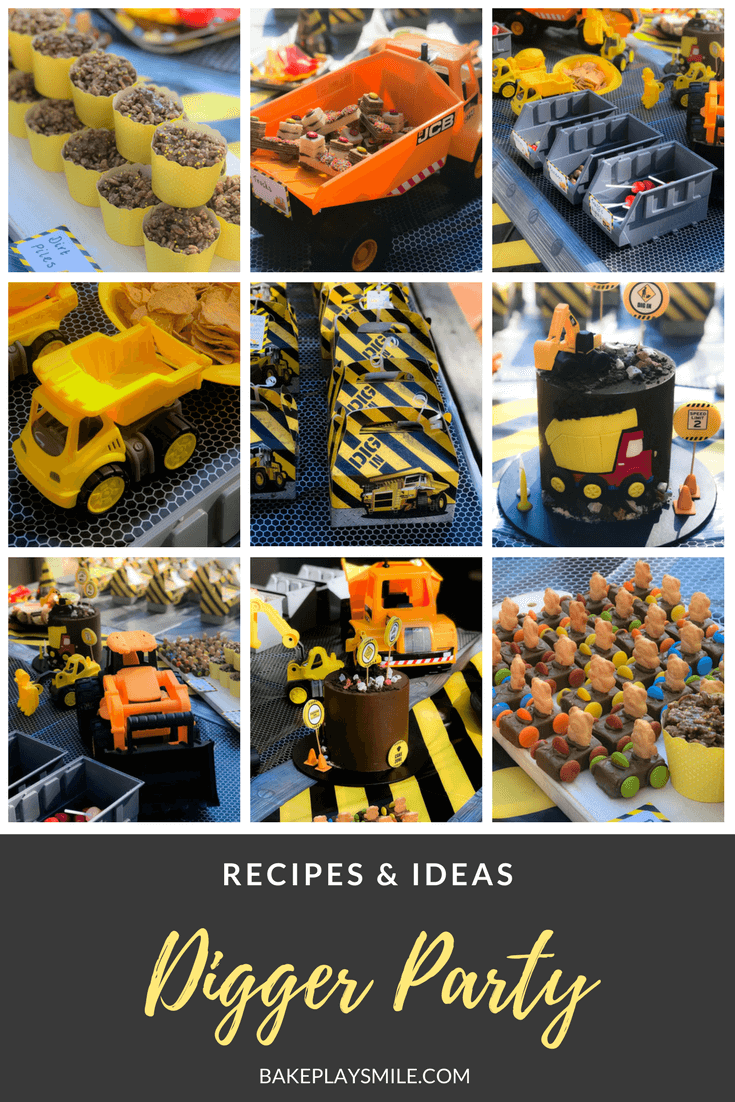 The Best Digger Party Ideas And Recipes Kids Parties Bake Play Smile