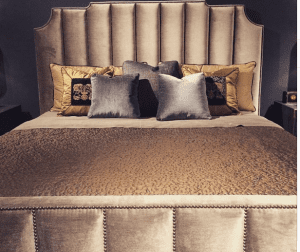 Upholstered designed bed Dallas