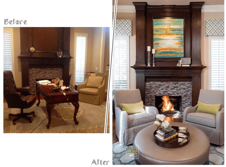 dallas interior design living room wine