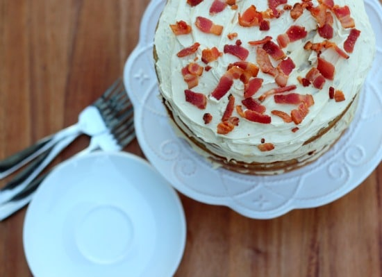 Excellent Bacon Cake Bacon Peanut Butter Banana Elvis Cake Baker Bettie Funny Birthday Cards Online Aboleapandamsfinfo