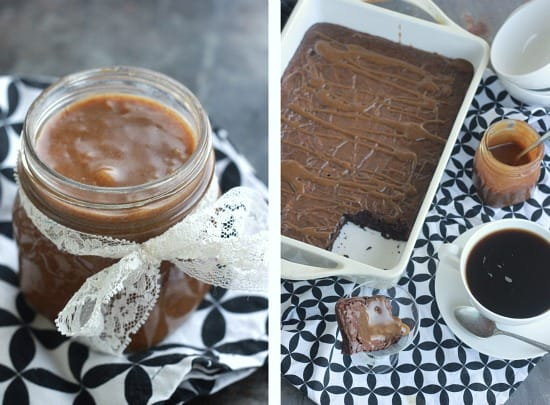 Vegan Salted Caramel Brownies (gluten free)- Baker Bettie