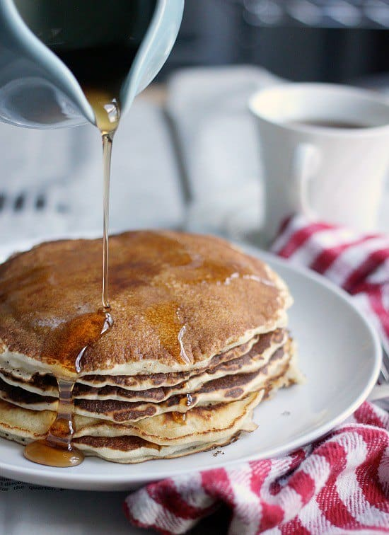 Easy Pancake Recipe, 5 Ingredients | Baker Bettie