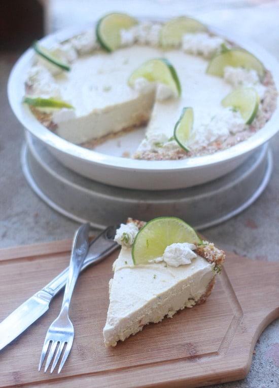 Raw Vegan Key Lime Pie- Baker Bettie