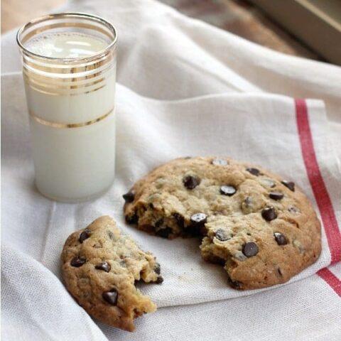 Big Ass Chocolate Chip Cookie