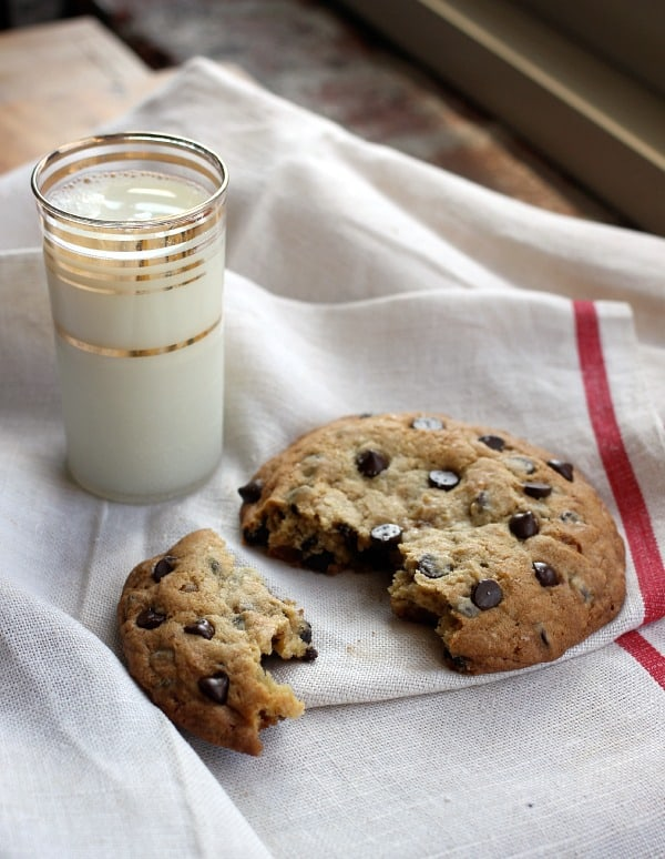 Big Ass Chocolate Chip Cookie For Two (or One)- Baker Bettie