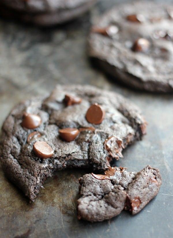 Spicy Dark Chocolate Cookies- Baker Bettie