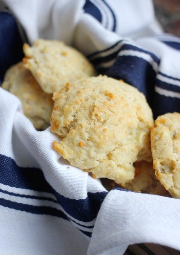 Easy Drop Biscuits Only 5 Ingredients- Baker Bettie