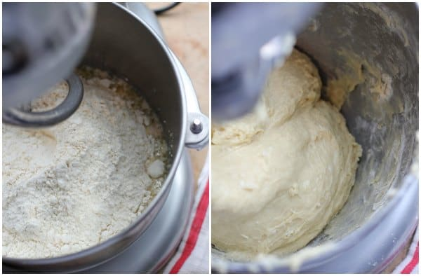 Master sweet dough recipe being kneaded in a stand mixer with hook